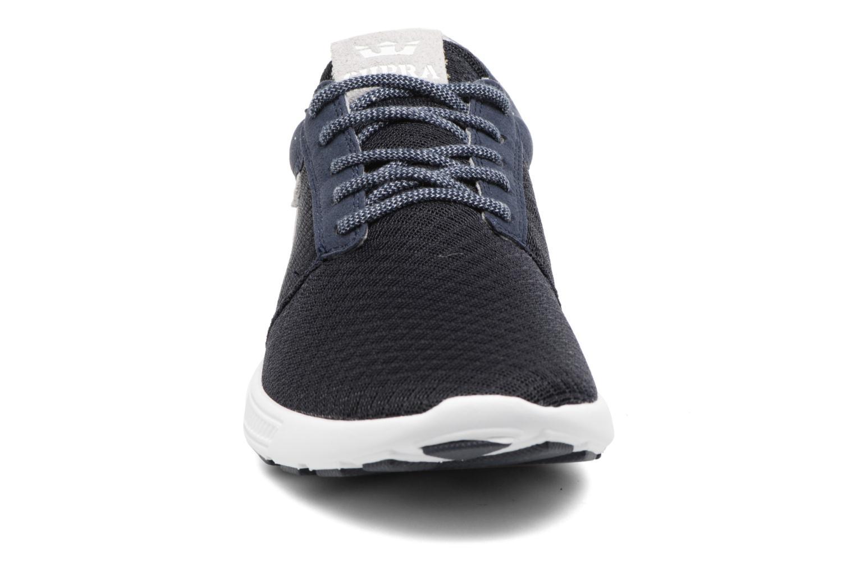 Sneaker Supra Hammer Run blau schuhe getragen