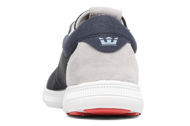 Sneaker Supra Hammer Run blau ansicht von rechts