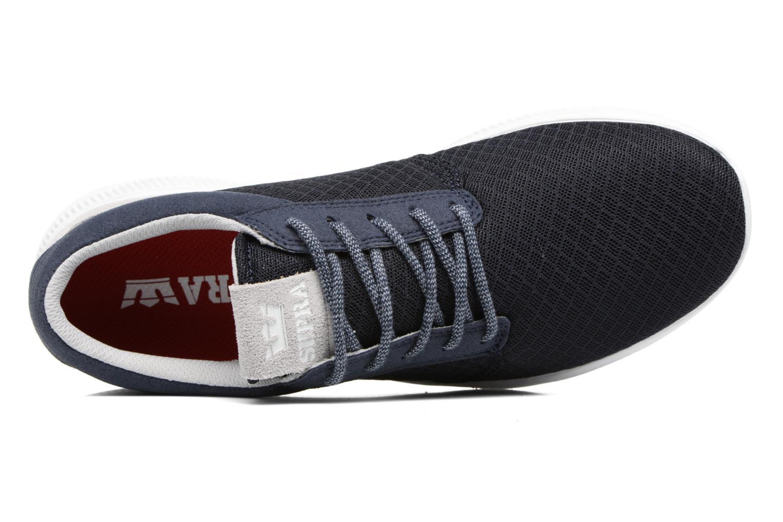 Sneaker Supra Hammer Run blau ansicht von links
