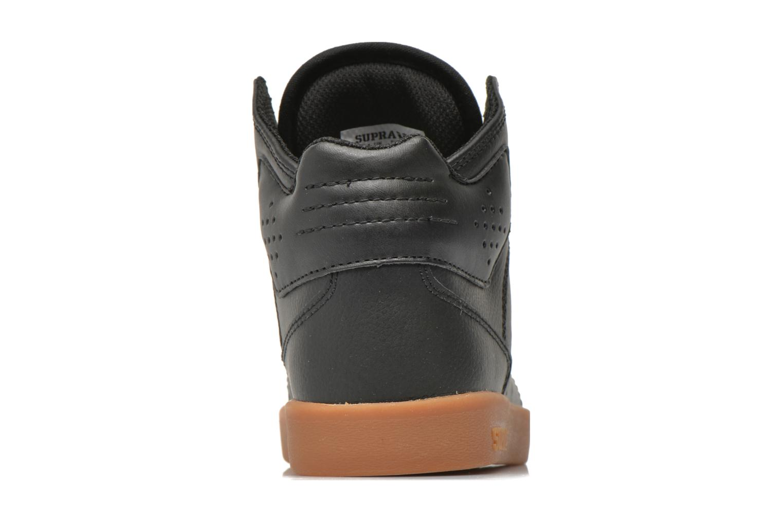 Sneaker Supra Atom Kids schwarz ansicht von rechts