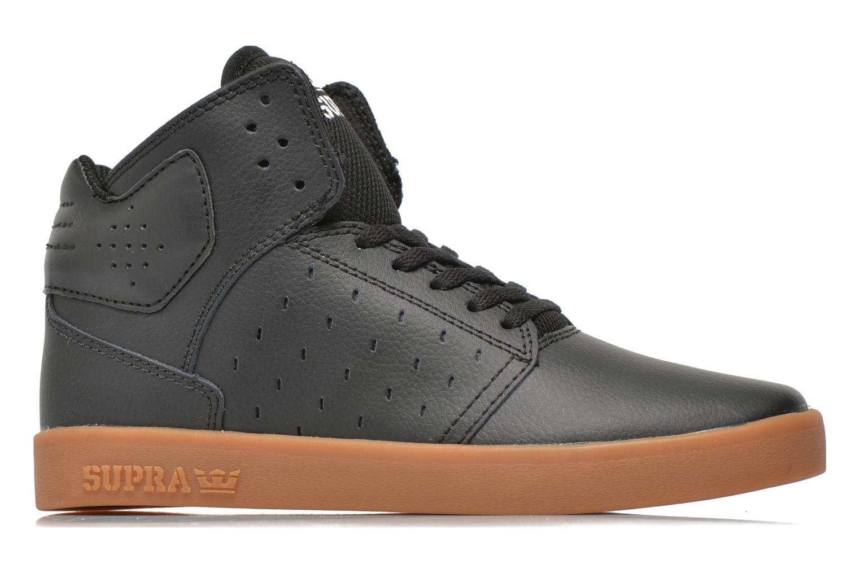 Sneaker Supra Atom Kids schwarz ansicht von hinten
