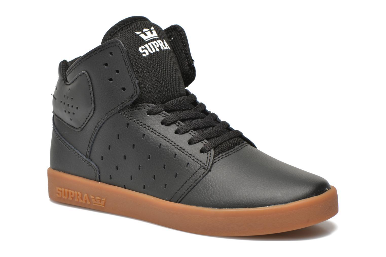 Sneaker Supra Atom Kids schwarz detaillierte ansicht/modell