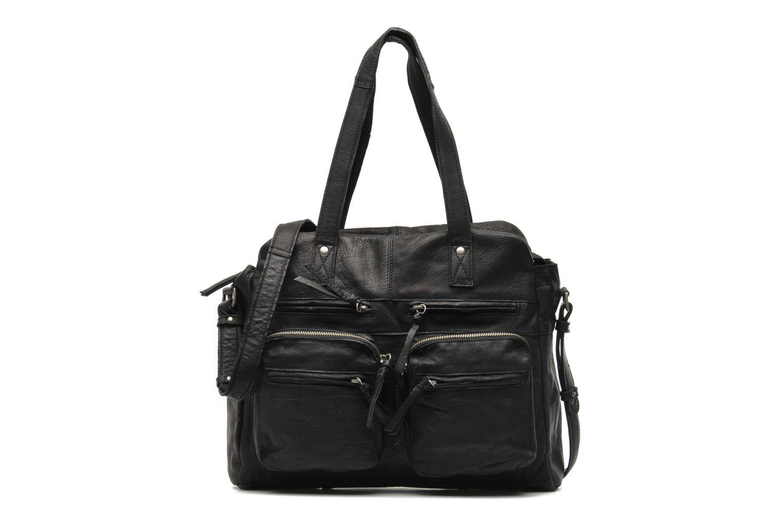 Håndtasker Pieces Mui leather Bag Sort detaljeret billede af skoene