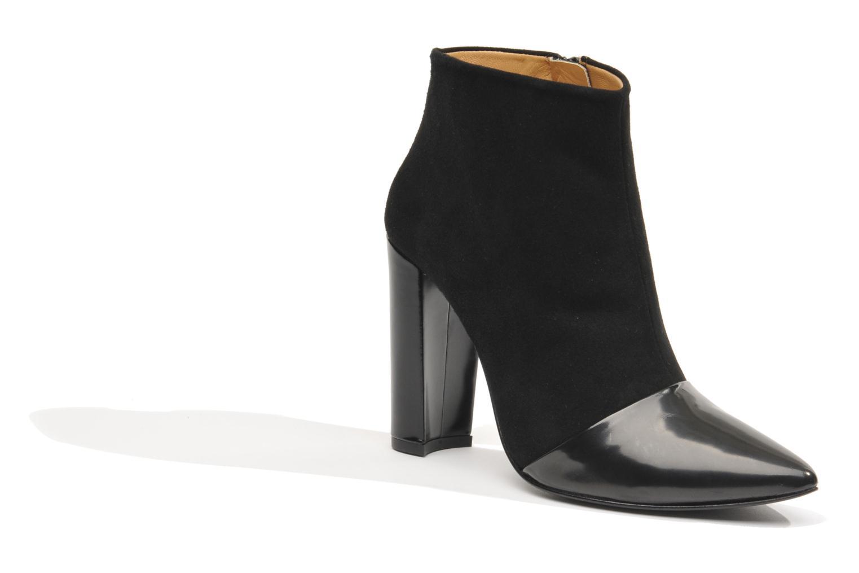 Bottines et boots Made by SARENZA Monceau #12 Noir vue face