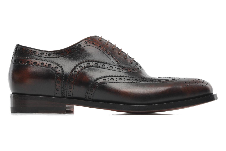 Chaussures à lacets Santoni Stan 08150 Marron vue derrière