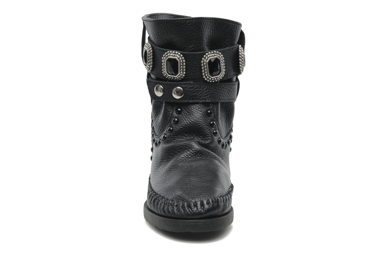 Boots en enkellaarsjes Karma of Charme Stra2 Barocco Zwart model