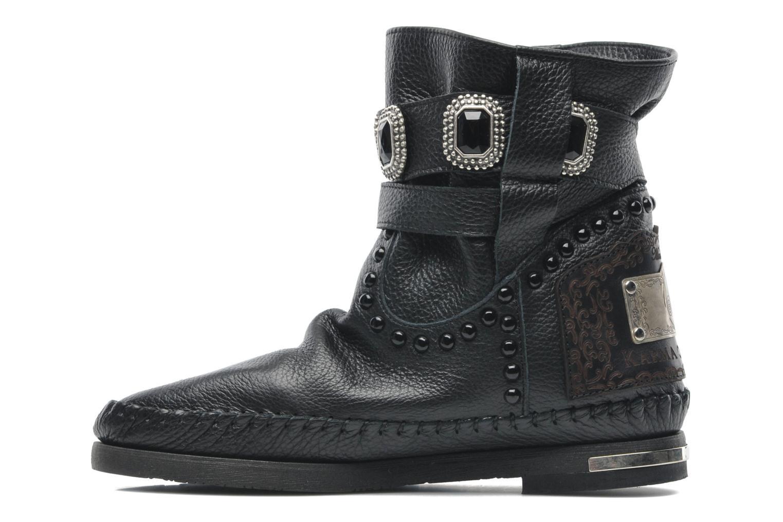 Bottines et boots Karma of Charme Stra2 Barocco Noir vue face