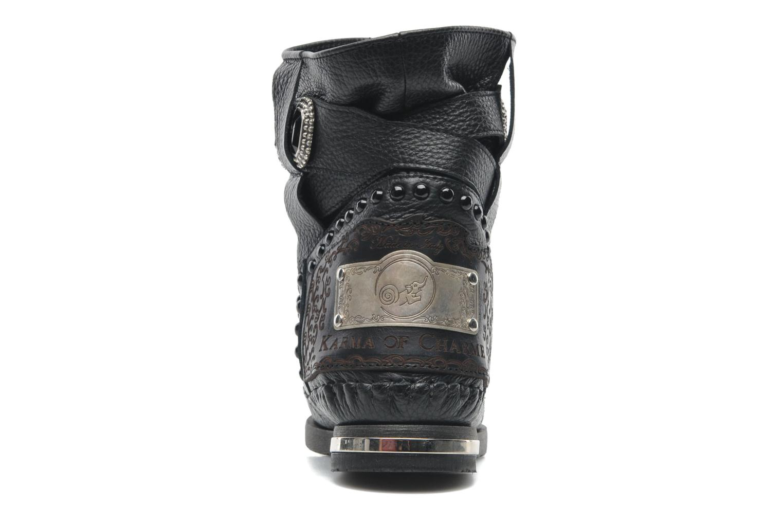 Boots en enkellaarsjes Karma of Charme Stra2 Barocco Zwart rechts