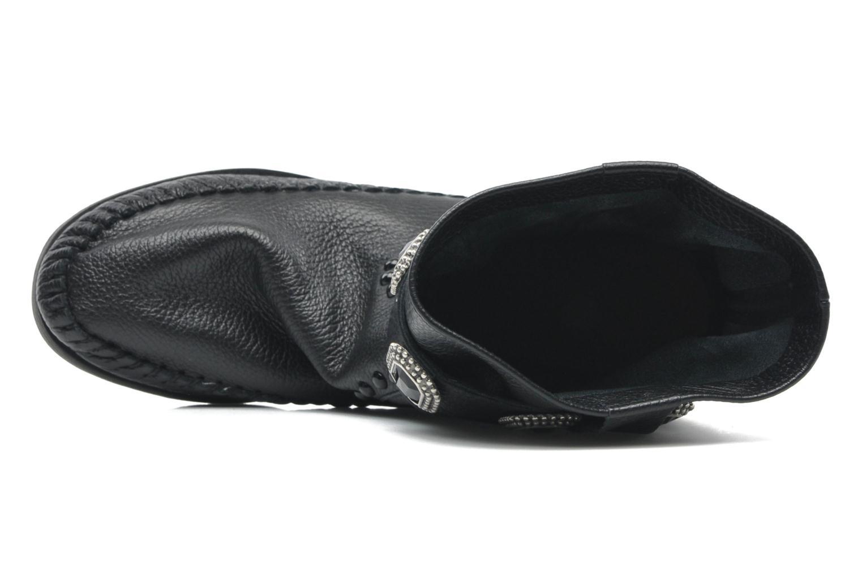 Boots en enkellaarsjes Karma of Charme Stra2 Barocco Zwart links