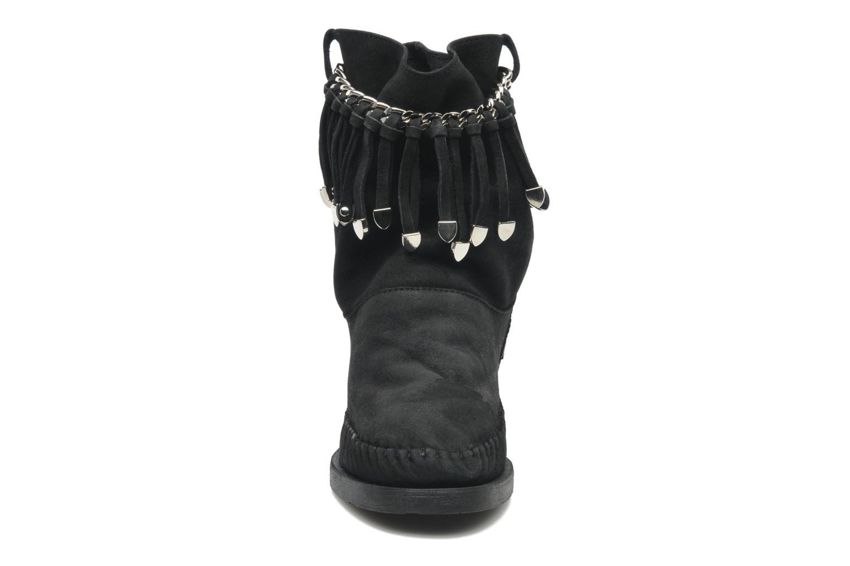 Bottines et boots Karma of Charme Dakota Silver Noir vue portées chaussures