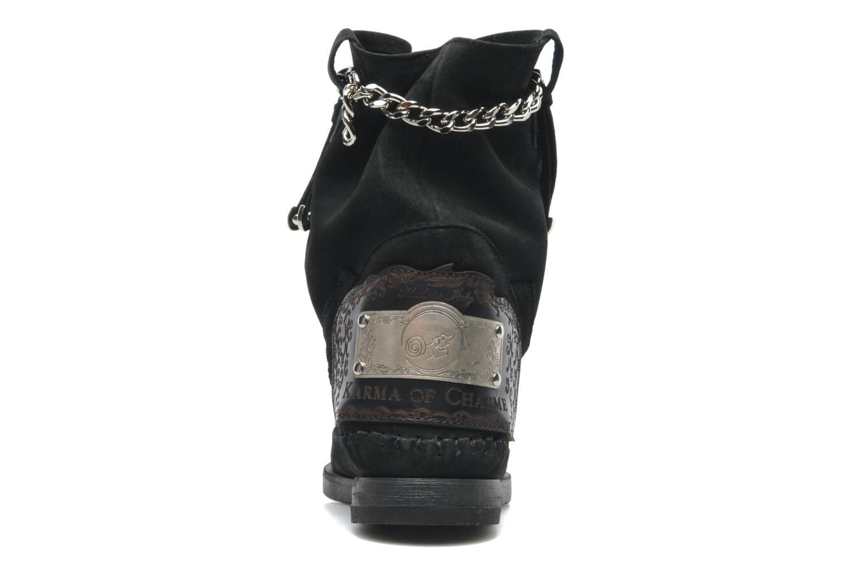 Bottines et boots Karma of Charme Dakota Silver Noir vue droite