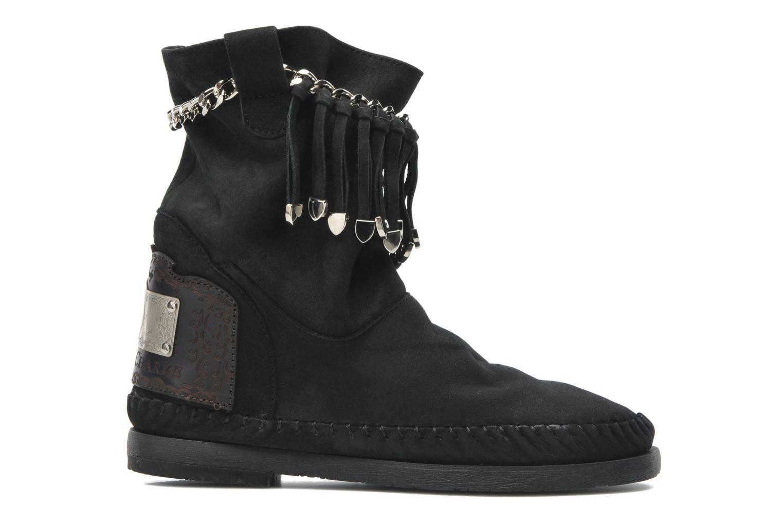 Bottines et boots Karma of Charme Dakota Silver Noir vue derrière