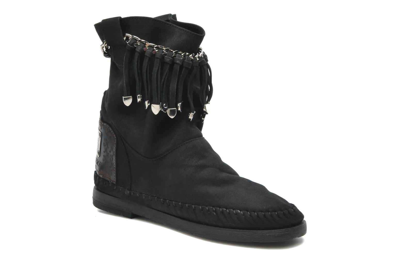 Bottines et boots Karma of Charme Dakota Silver Noir vue détail/paire