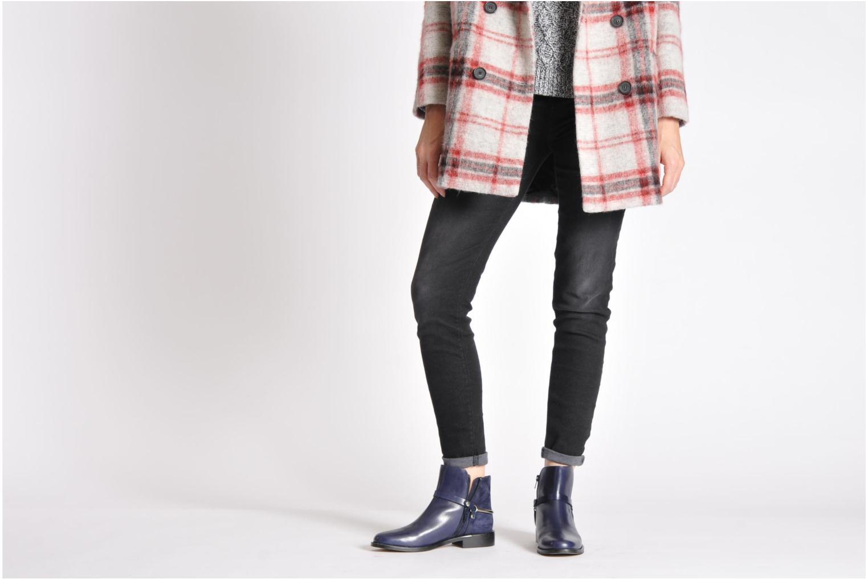 Bottines et boots Georgia Rose Armore Noir vue bas / vue portée sac