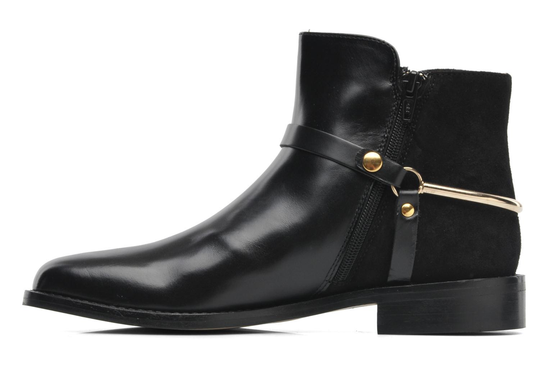 Bottines et boots Georgia Rose Armore Noir vue face