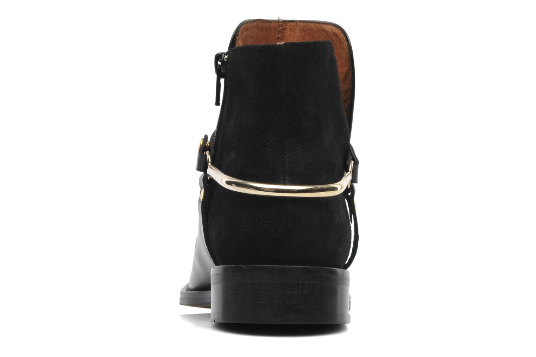 Bottines et boots Georgia Rose Armore Noir vue droite