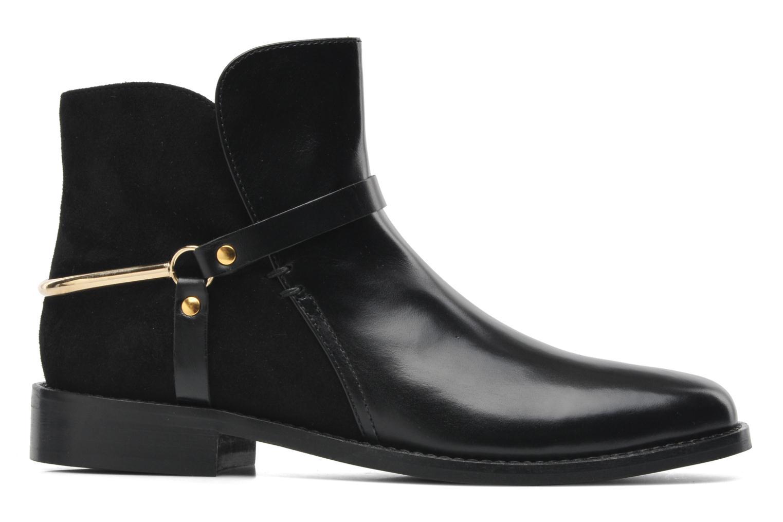Bottines et boots Georgia Rose Armore Noir vue derrière