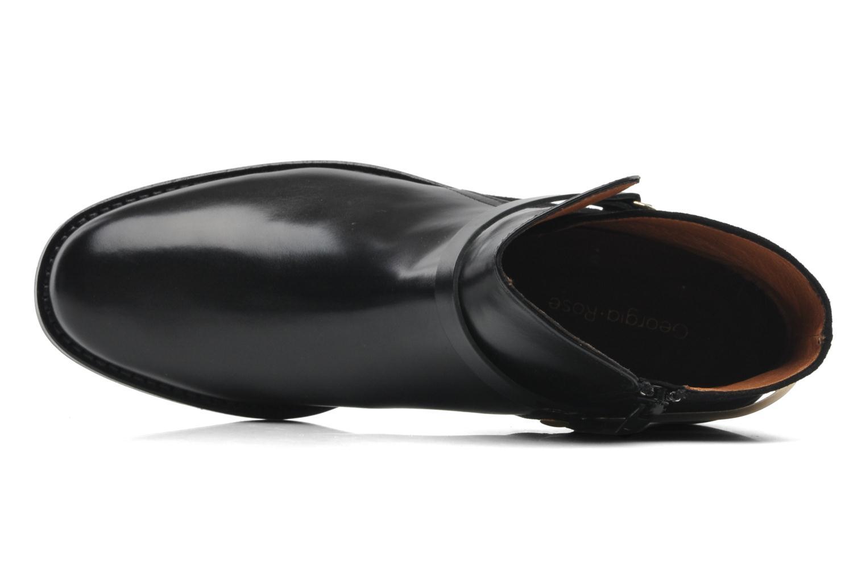 Bottines et boots Georgia Rose Armore Noir vue gauche