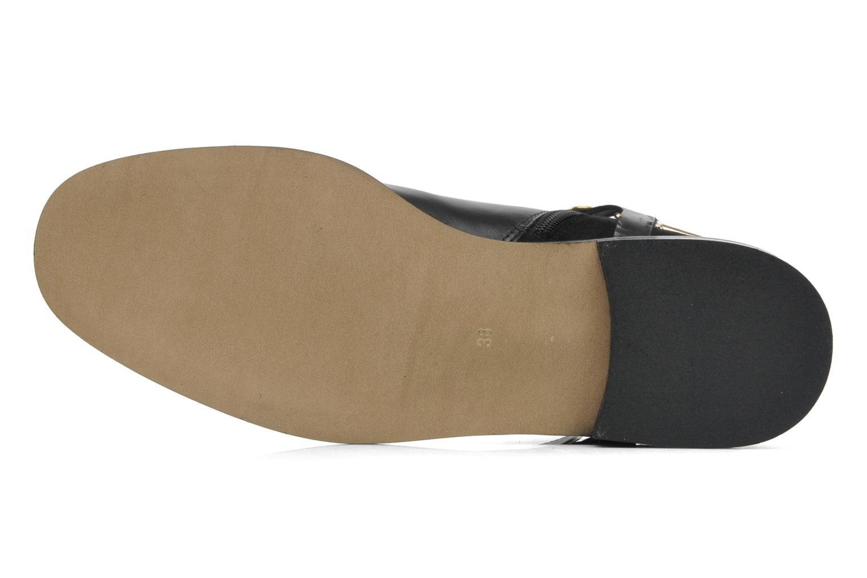 Bottines et boots Georgia Rose Armore Noir vue haut