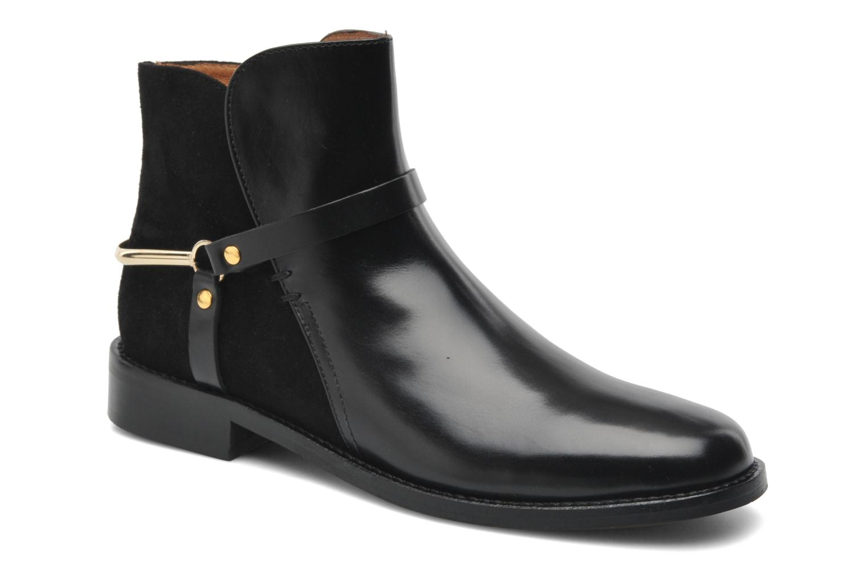 Bottines et boots Georgia Rose Armore Noir vue détail/paire