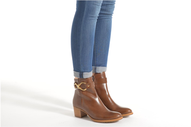 Bottines et boots Georgia Rose Cottage Marron vue bas / vue portée sac
