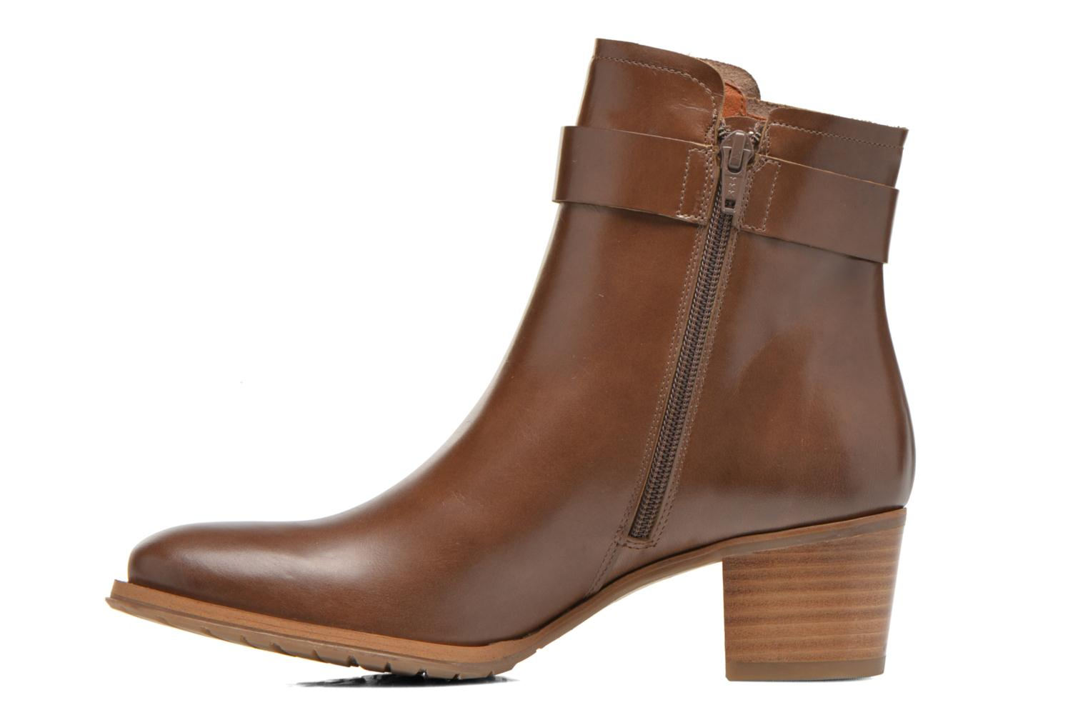 Ankle boots Georgia Rose Cottage Brown front view