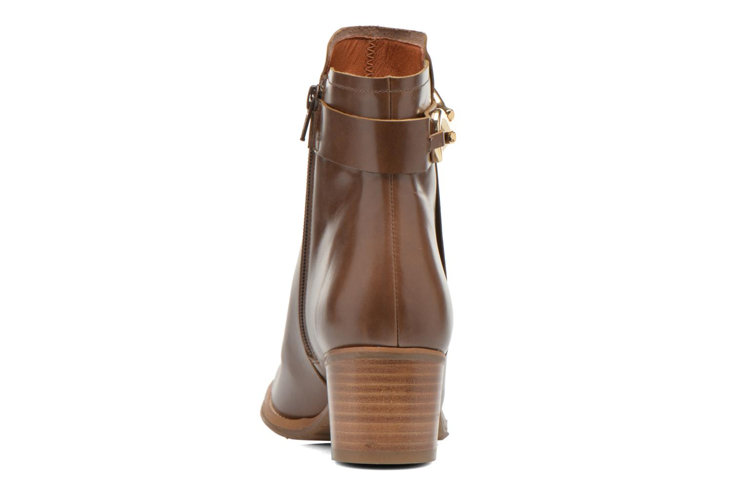 Ankle boots Georgia Rose Cottage Brown view from the right