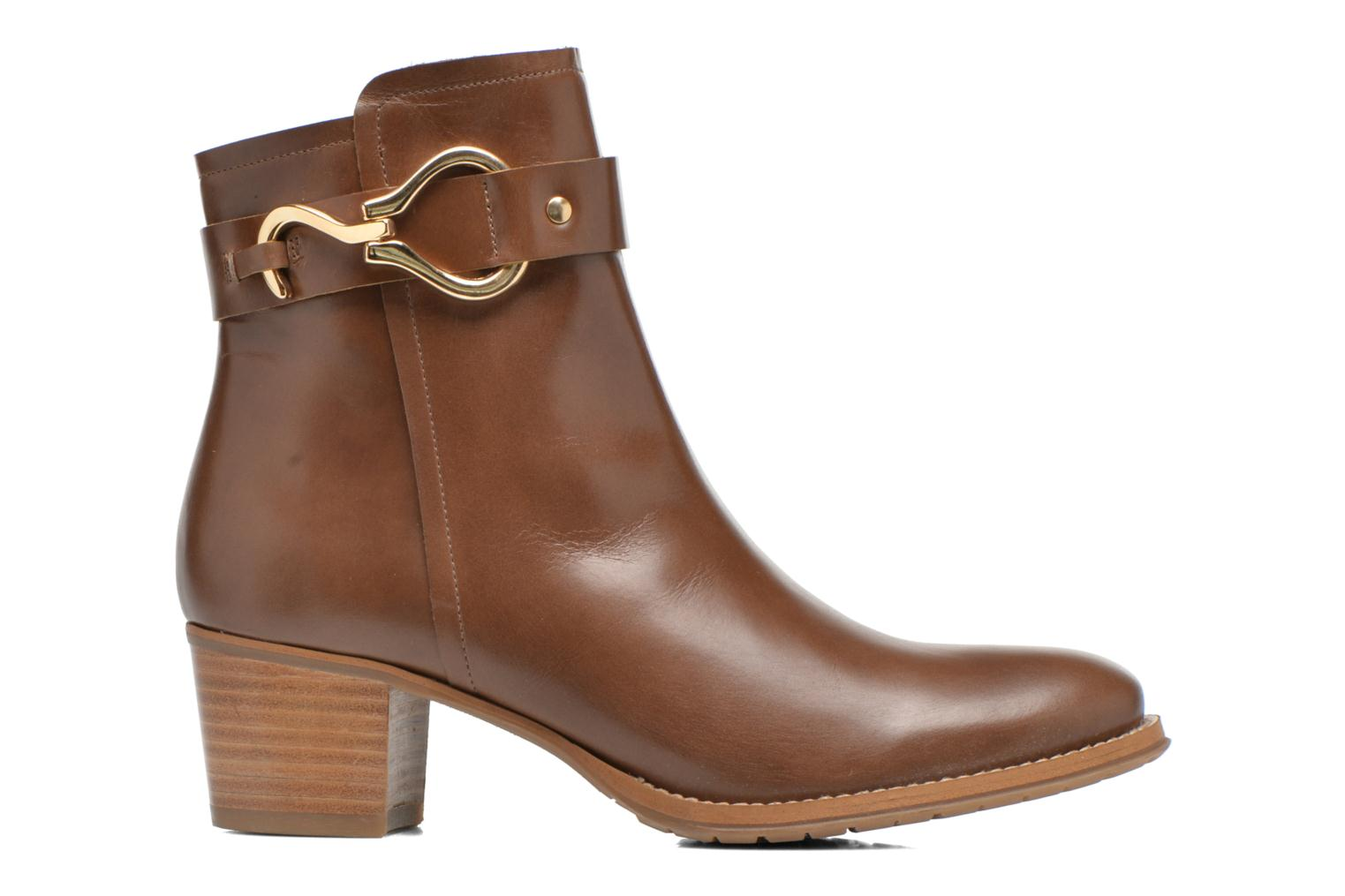 Ankle boots Georgia Rose Cottage Brown back view