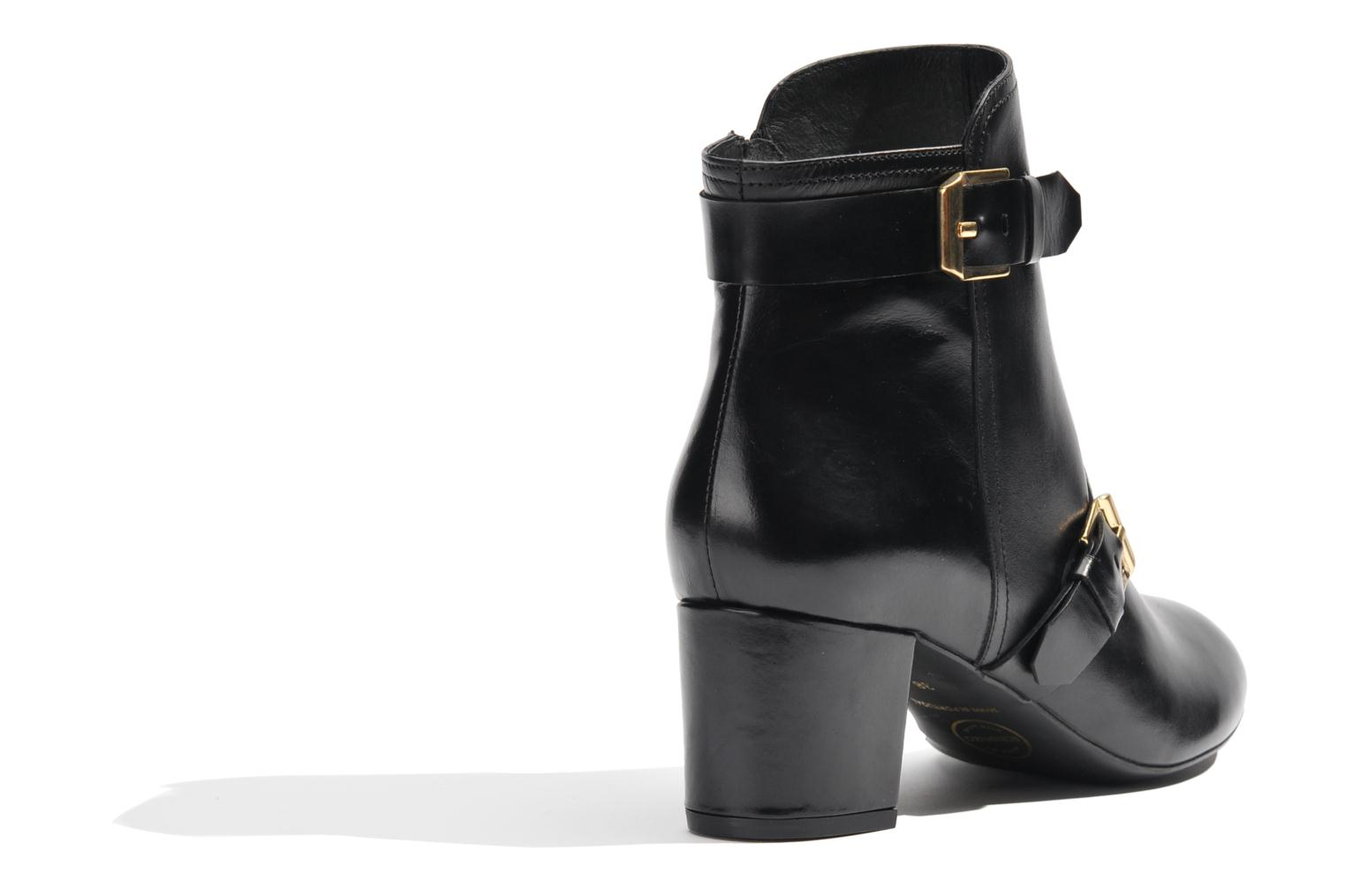 Ankle boots Made by SARENZA Chantilly Chérie #4 Black front view