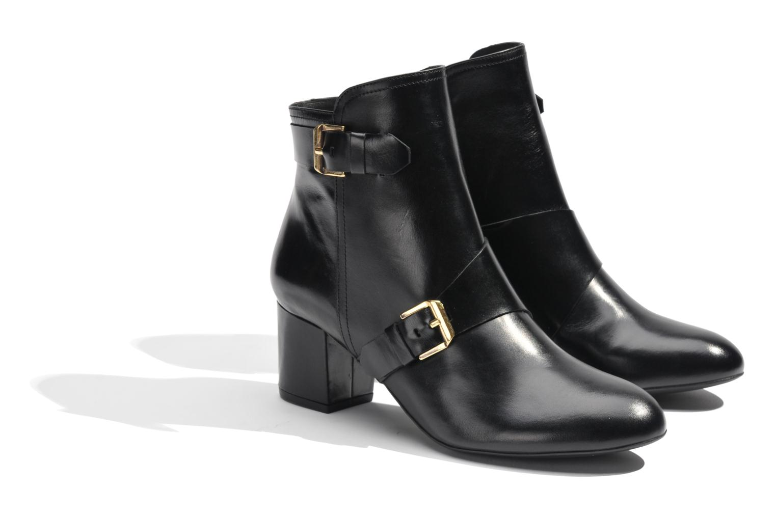 Ankle boots Made by SARENZA Chantilly Chérie #4 Black back view