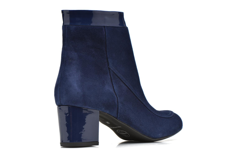 Boots en enkellaarsjes Made by SARENZA Queens Cross #17 Blauw voorkant