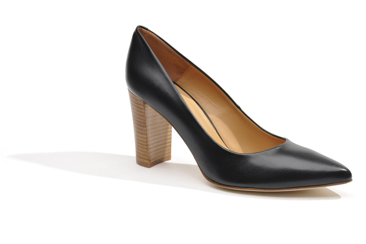 High heels Made by SARENZA Glaçons citrons #16 Black view from the right
