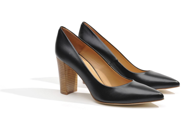 High heels Made by SARENZA Glaçons citrons #16 Black back view