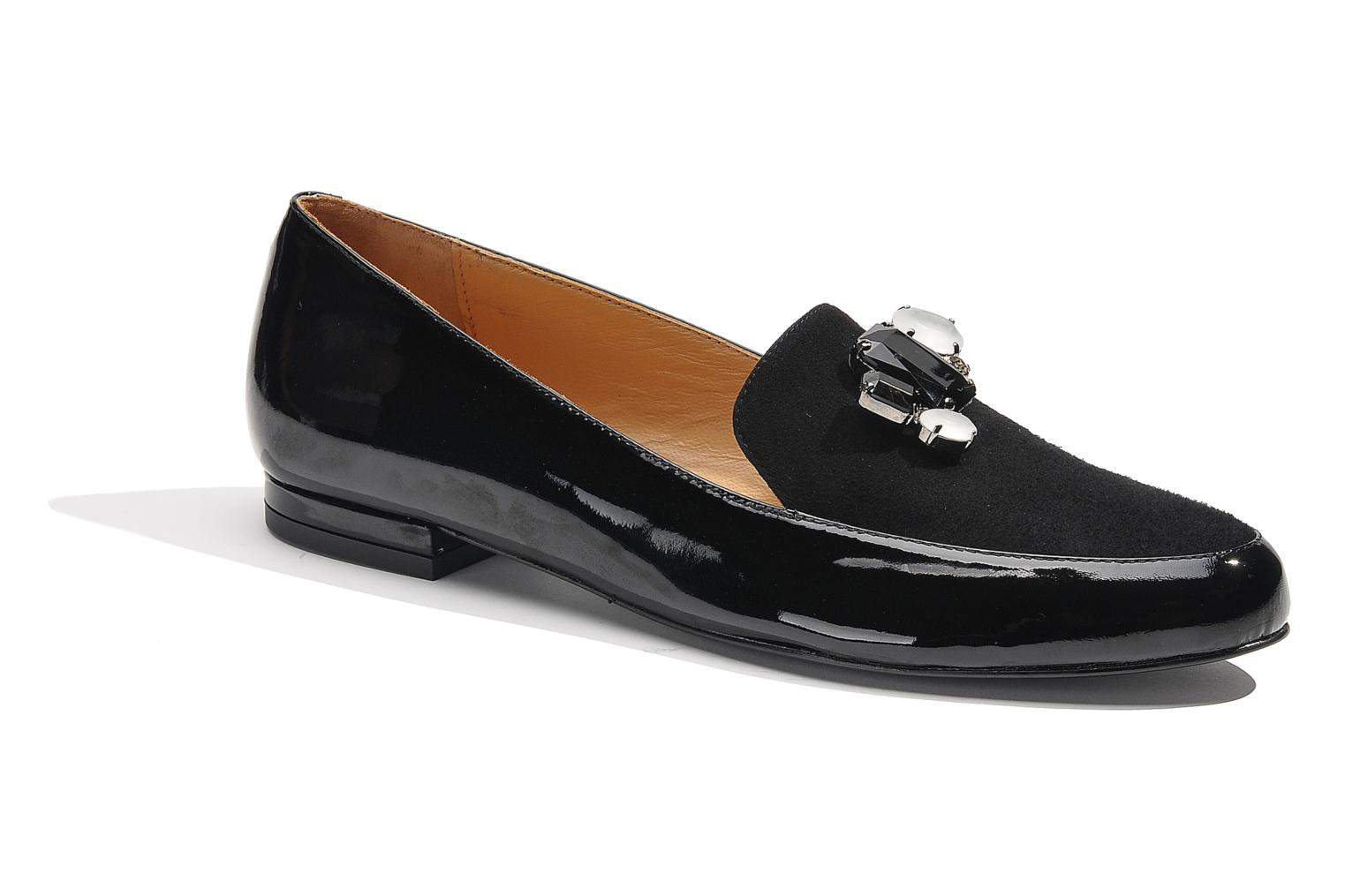 Loafers Made by SARENZA Café With Colette #1 Black view from the right