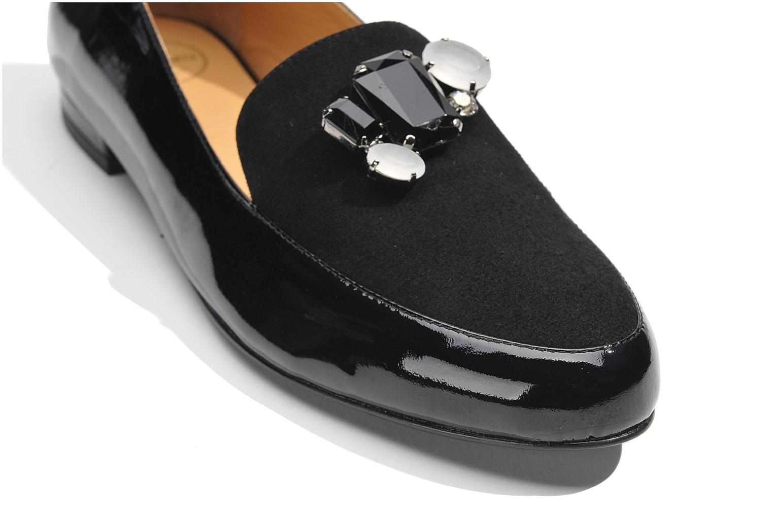 Loafers Made by SARENZA Café With Colette #1 Black view from above