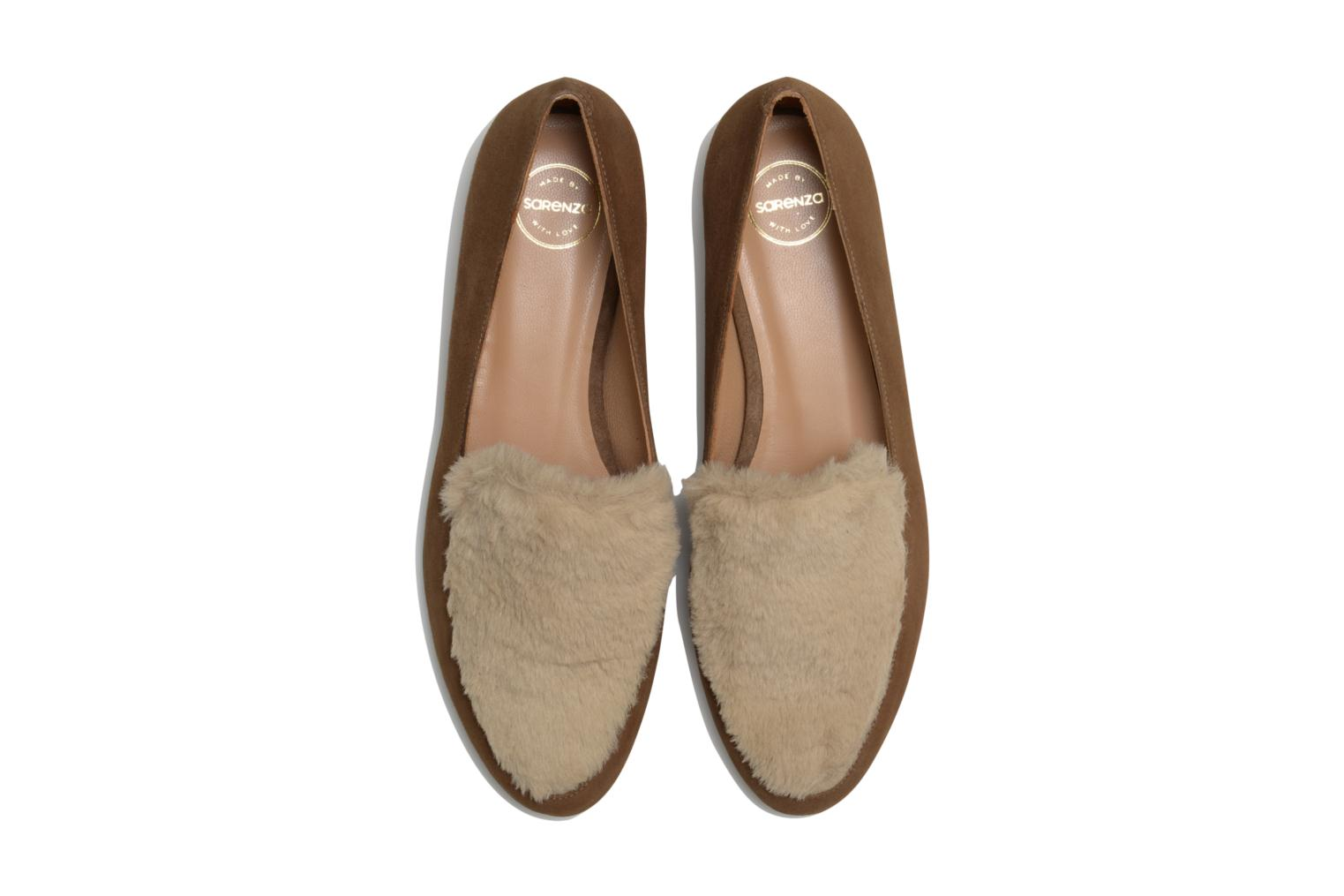 Loafers Made by SARENZA Café With Colette #1 Brown model view