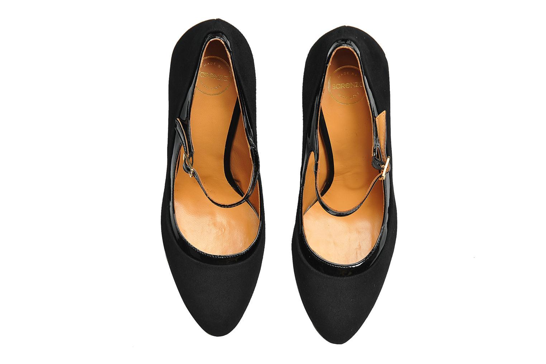 Zapatos de tacón Made by SARENZA Flore Thirties #13 Negro vista del modelo