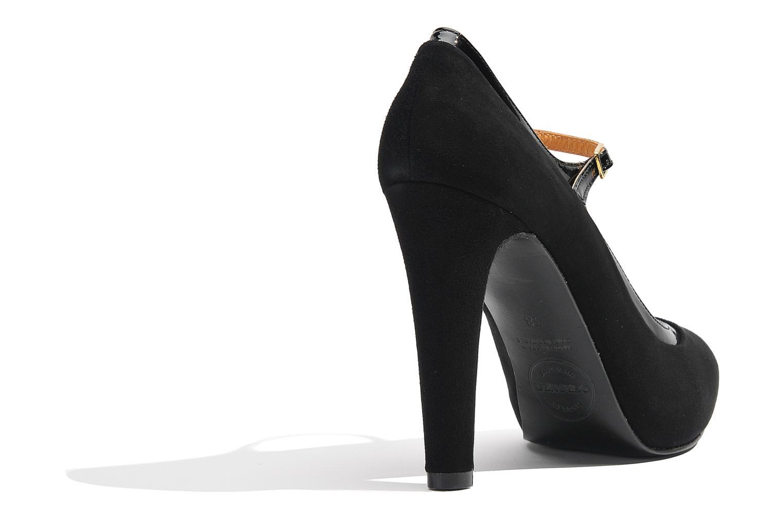 Zapatos de tacón Made by SARENZA Flore Thirties #13 Negro vista de frente
