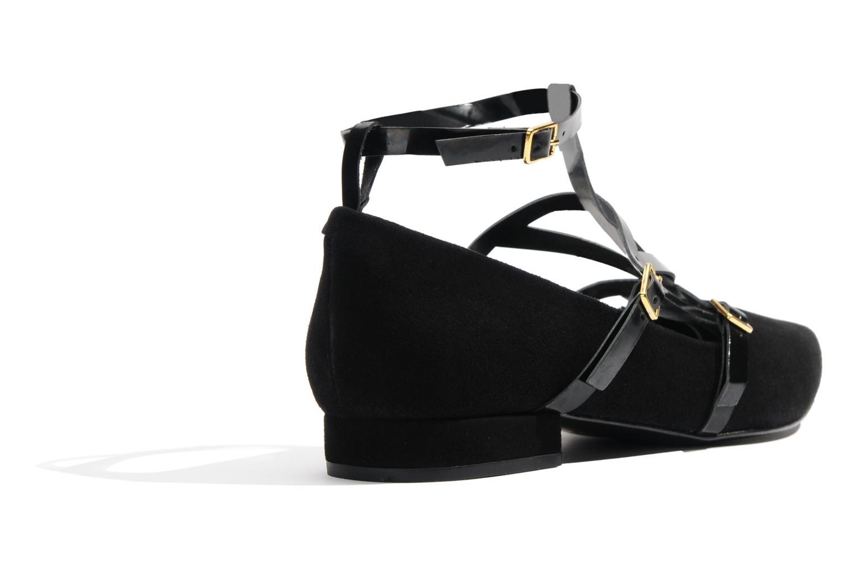Ballerines Made by SARENZA Bataclan #1 Noir vue portées chaussures