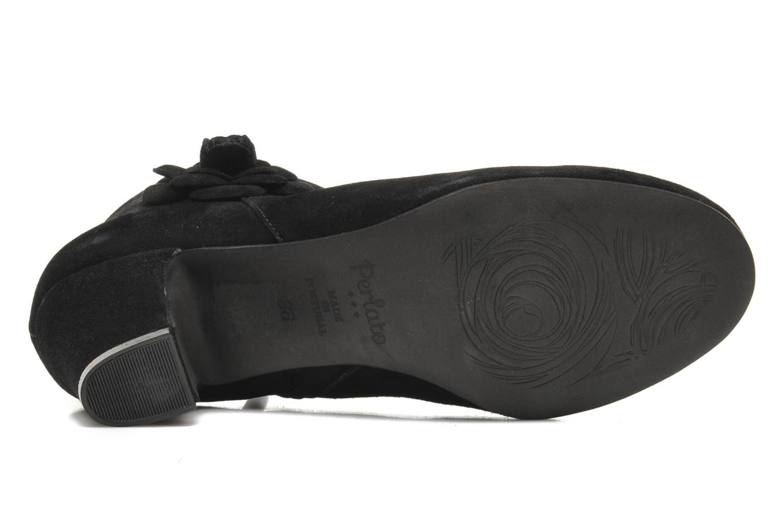 Stiefeletten & Boots Perlato Paddy schwarz ansicht von oben