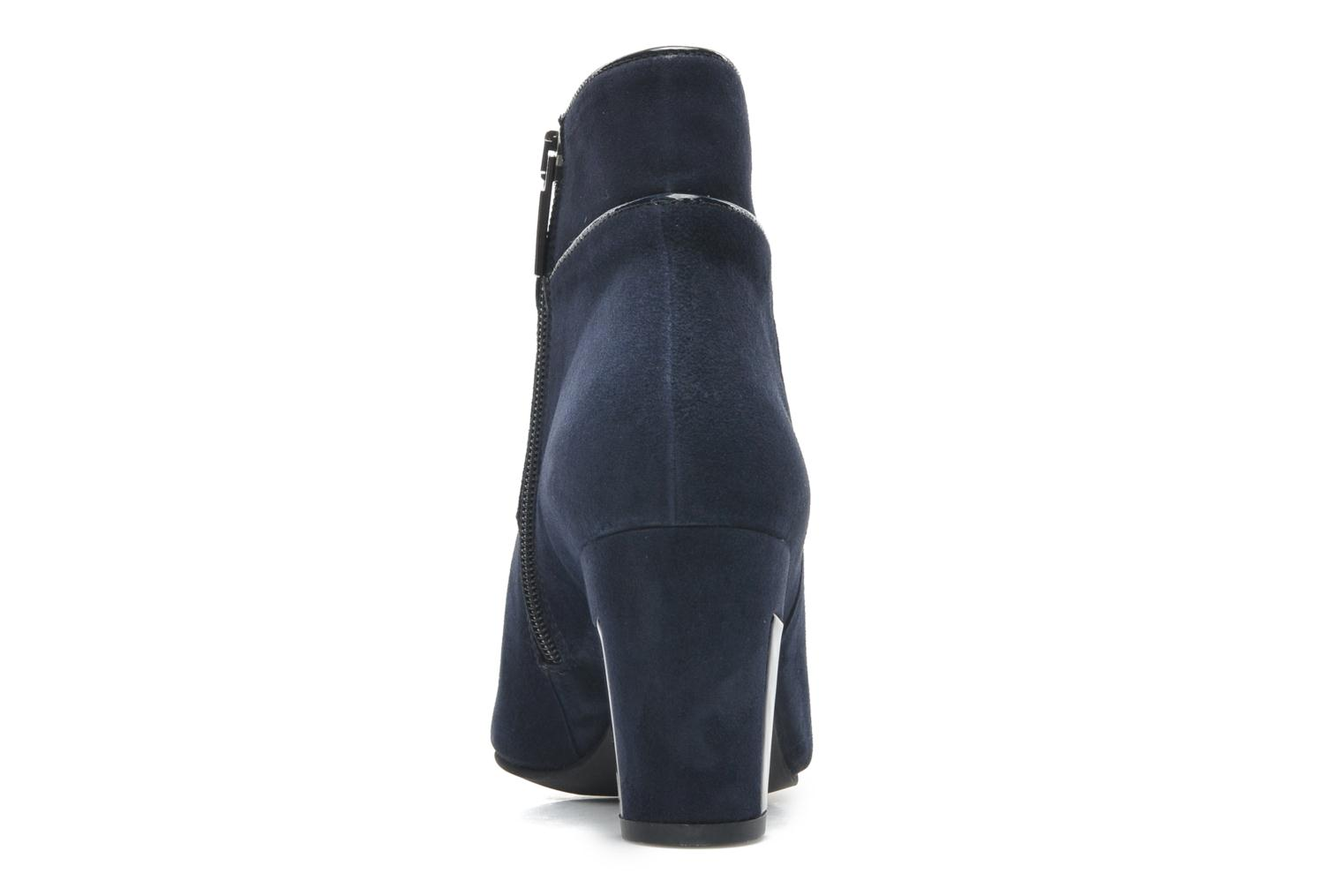 Ankle boots Perlato Piwi Blue view from the right