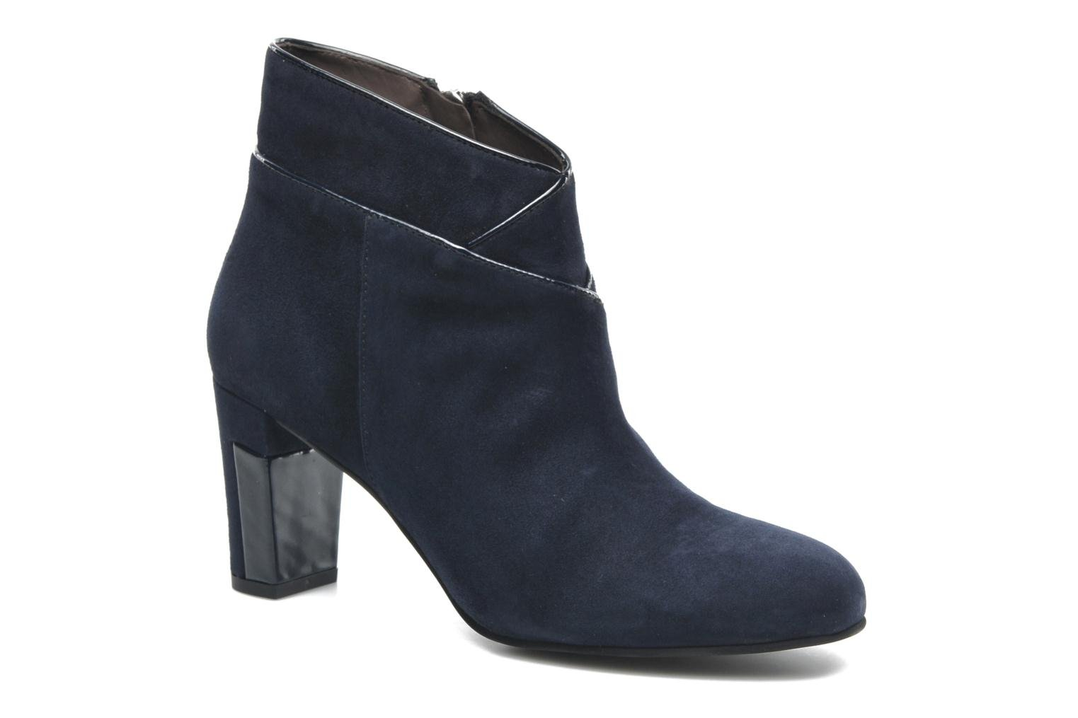 Ankle boots Perlato Piwi Blue detailed view/ Pair view