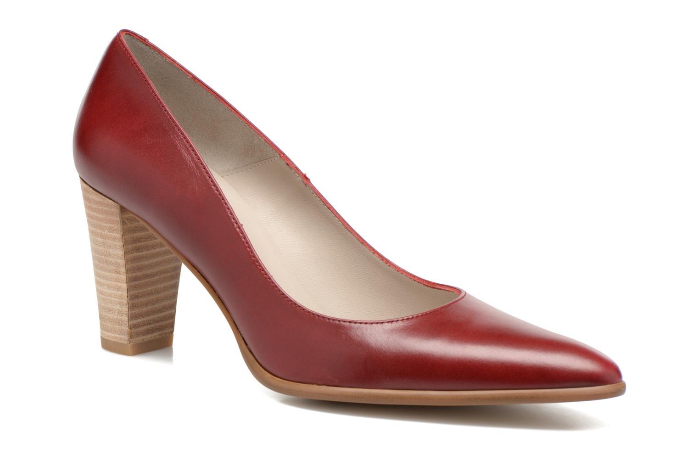 Escarpins Perlato Piaza Rouge vue détail/paire