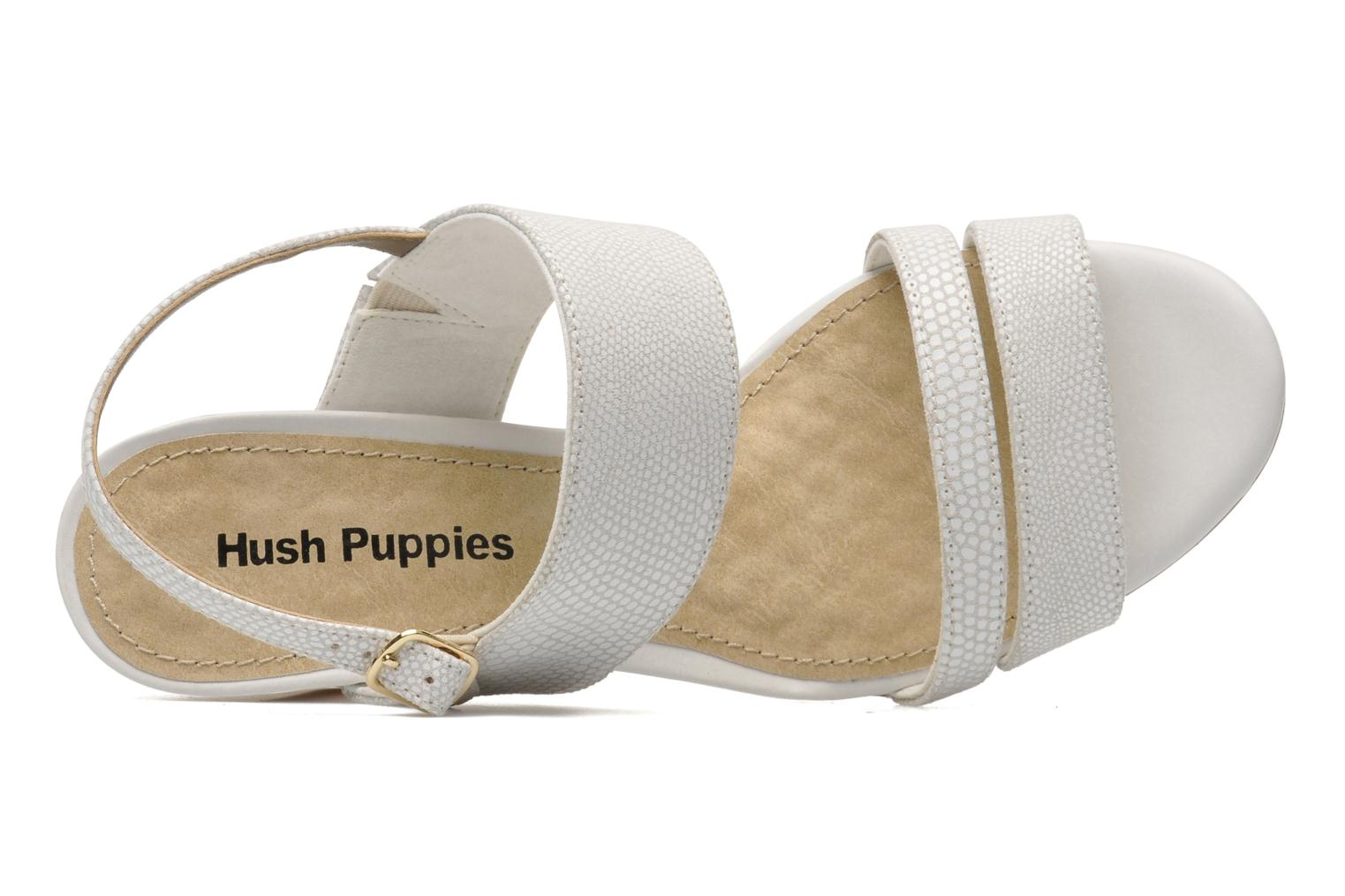 Sandalen Hush Puppies Molly Malia weiß ansicht von links