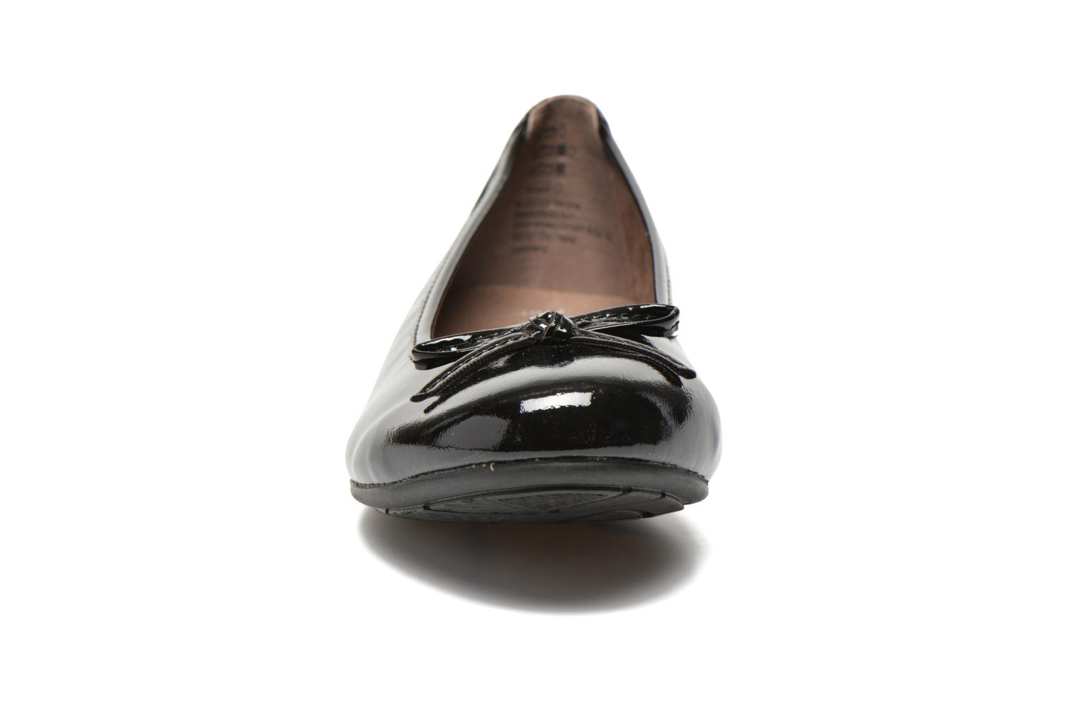 Ballet pumps Jana shoes Lila Black model view