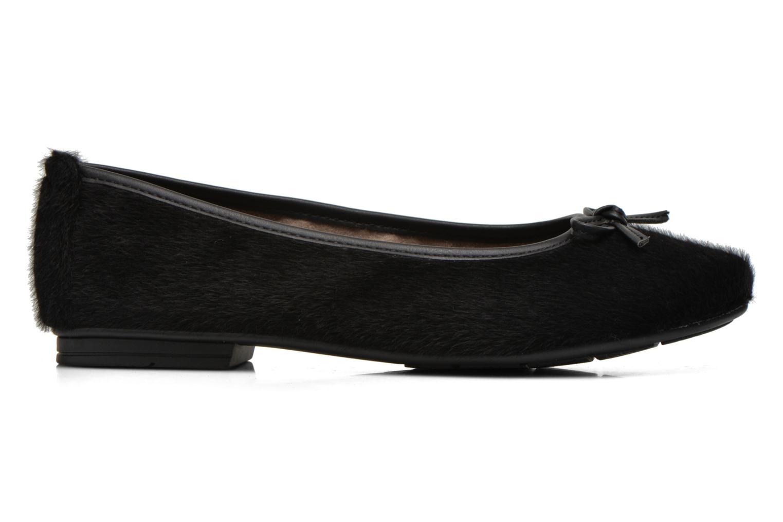 Ballet pumps Jana shoes Lila Black back view