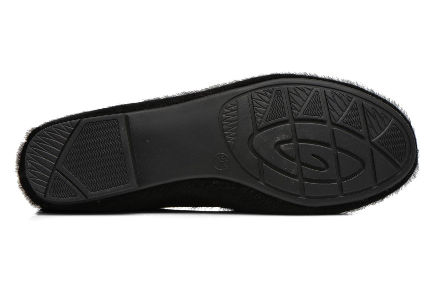 Ballet pumps Jana shoes Lila Black view from above