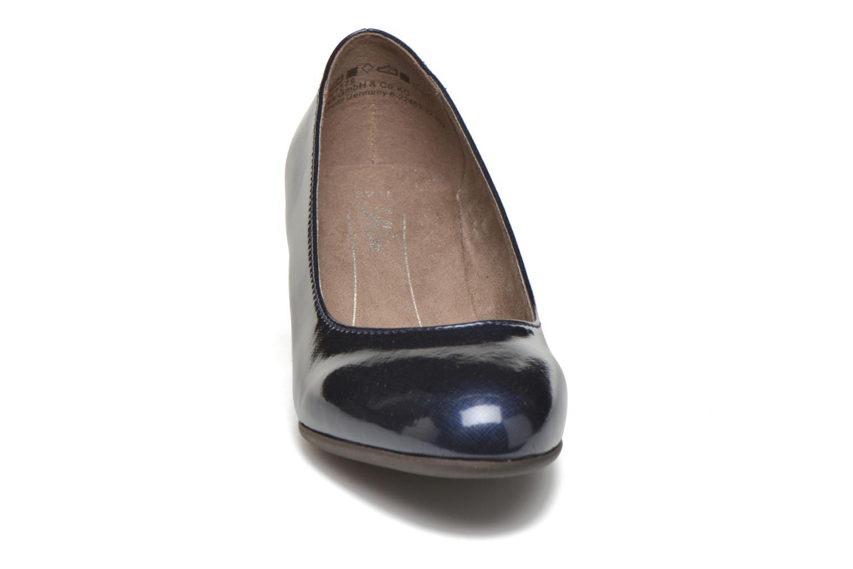 Pumps Jana shoes Anis blau schuhe getragen