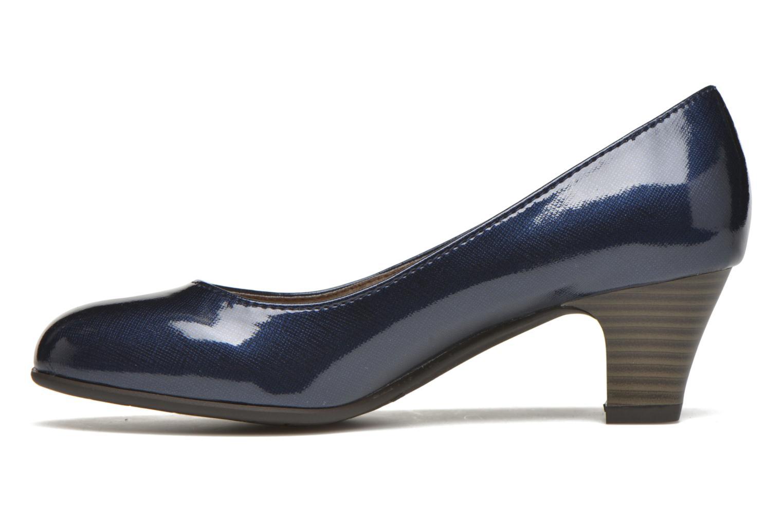 Pumps Jana shoes Anis blau ansicht von vorne