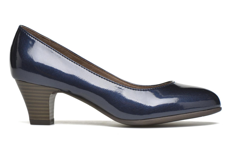 Pumps Jana shoes Anis blau ansicht von hinten